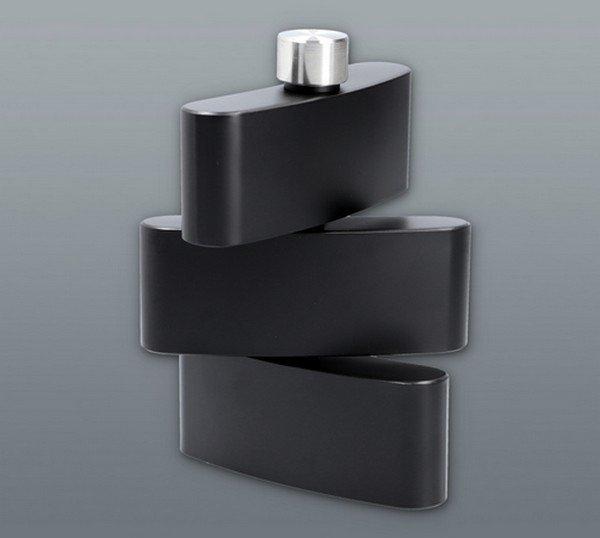 Rozsdamentes acélból készült forgatható csutora 3 x 180 ml