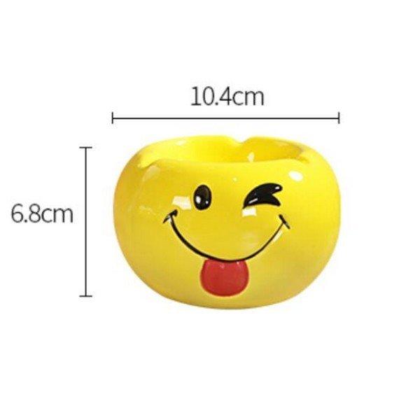 Emoji kerámia hamutartó