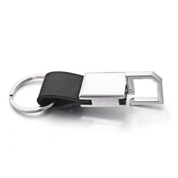Férfi rozsdamentes acélból készült fordítható kulcstartó