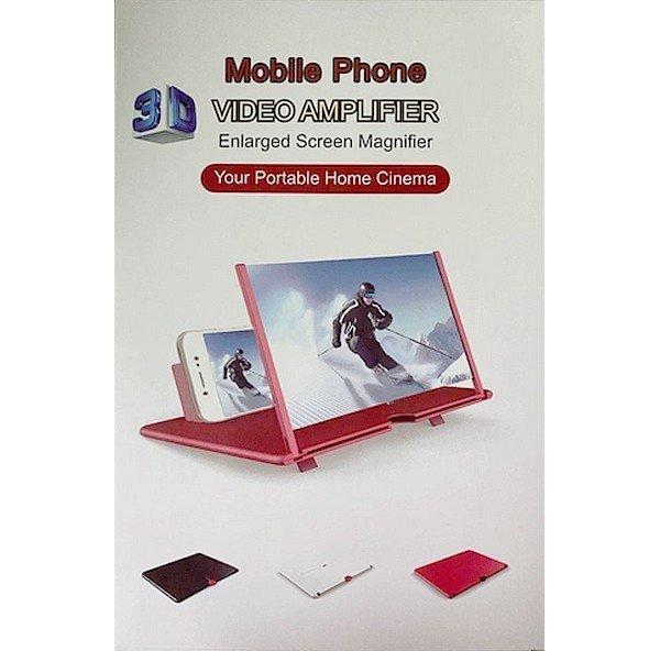 Skládací 3D stojánek na telefon s lupou Opti-Screen