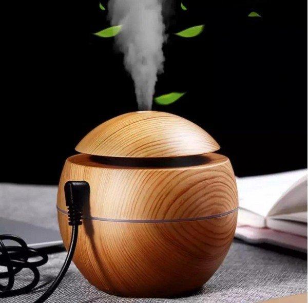 Ultrahangos aroma diffúzor lámpával 130 ml