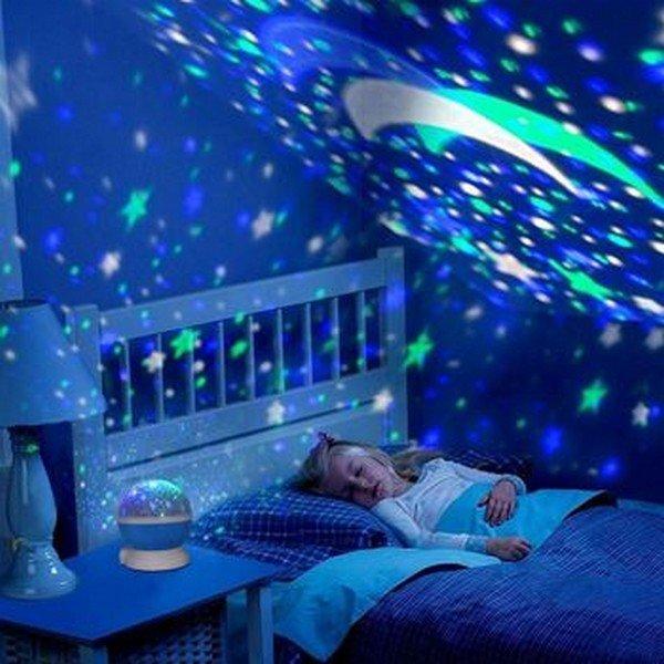 Éjszakai égbolt lámpa és projektor - deluxe