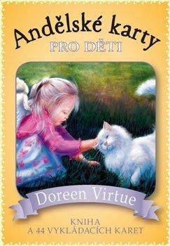 Andělské karty pro děti - kniha + 44 karer