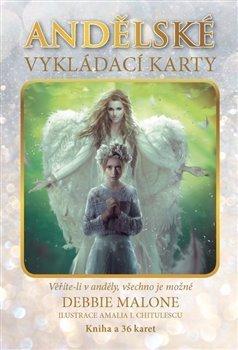 Andělské vykládací karty - kniha + 36 karet