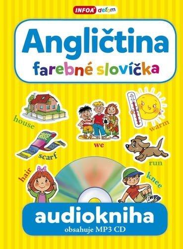 Audiokniha - Angličtina - farebné slovíčka + MP3 CD (SK vydanie)