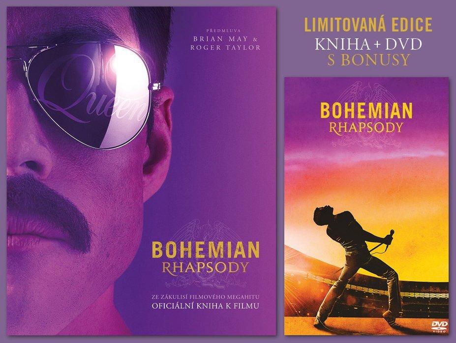Bohemian Rhapsody – dárkové provedení s DVD