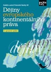 Dějiny evropského kontinentálního práva - 4. upravené vydání