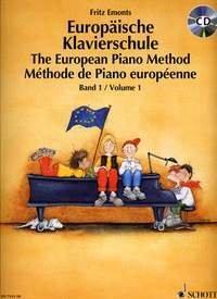 Evropská klavírní škola I.+ CD - The European Piano Method