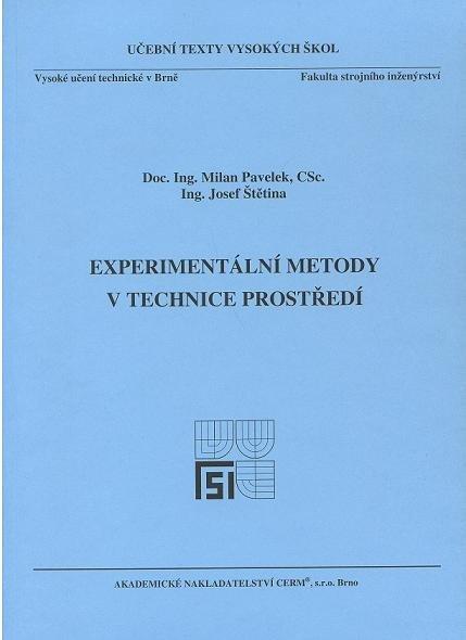 Experimentální metody v technice prostředí