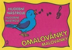 Omalovánka - hudební nástroje Vozar, Martin