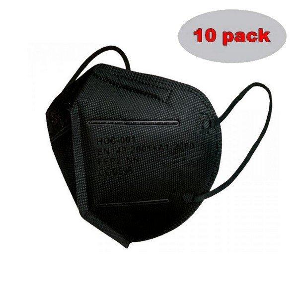 respirator-ho-comfort-ffp2-cerny-10-ks