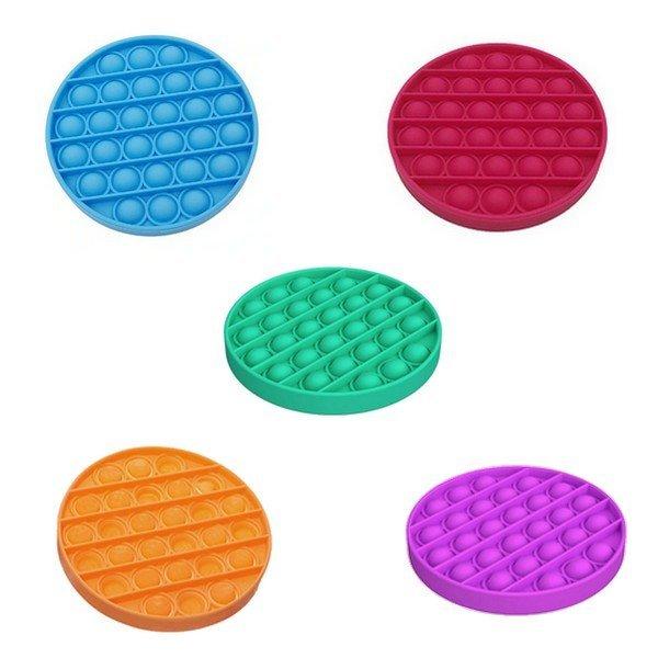 Antistress köralakú szenzoros játék Push Pop Bubble