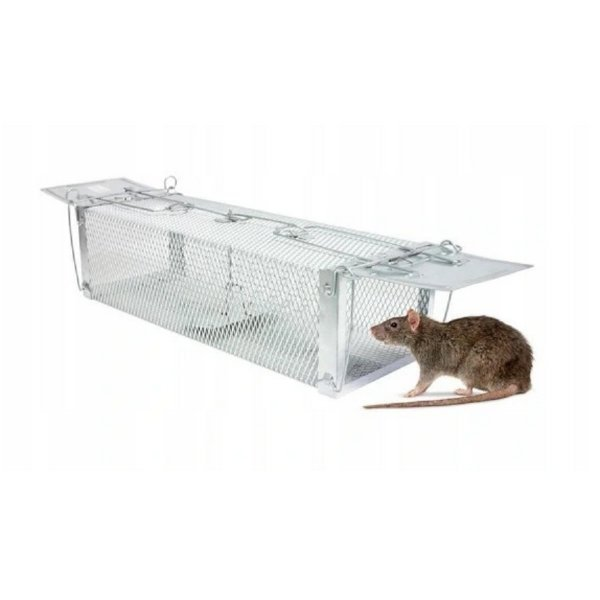 Sklopec - past na kunu, potkana nebo kočku 60 cm