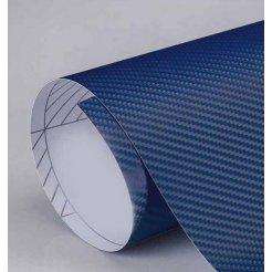 3D karbonová folie tmavě modrá (š.1,27m)