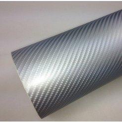 4D karbonová folie stříbrná (š.1,52m)