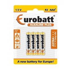 Baterie LR03 Alkaline Plus AAA 4 ks