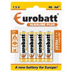 Baterie LR6 Alkaline Plus AA 4 ks