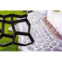 Forma na betónové chodníky