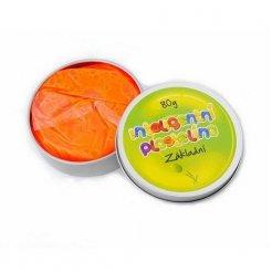 Inteligentná plastelína Oranžová základná