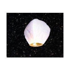 Lampión šťastia biely