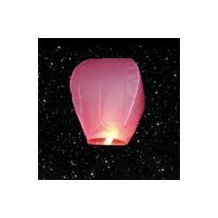 Lampión šťastia ružový