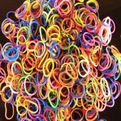 Loom Bands gumičky mix farieb 600ks
