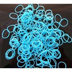 Loom Bands gumičky s háčikom 270 ks - svetlo modrá
