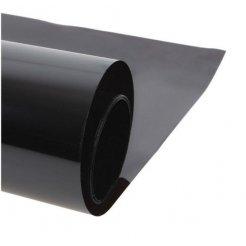 Okenní protisluneční fólie (š. 1,52m) Super Dark Black 25%