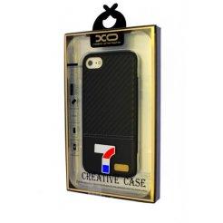 Púzdro Matex iPhone 7 carbon koža čierne