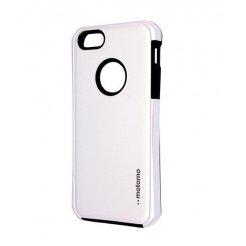 Pouzdro Motomo Apple Iphone 5G / 5S stříbrné