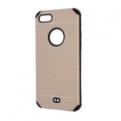 Púzdro Motomo Apple iPhone 7 Plus zlatá imitácia kovu