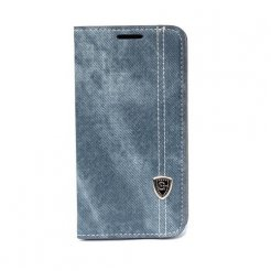 Pouzdro typu kniha pro Samsung Galaxy S5 modré