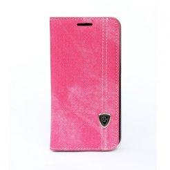 Púzdro typu kniha pre Samsung Galaxy S5 ružové