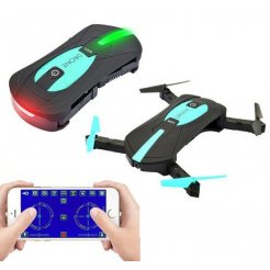 RC Dron mini skladací JY018 WIFI HD 360