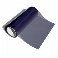 Termoplastická samolepiaca fólia na svetlá čierna dymová