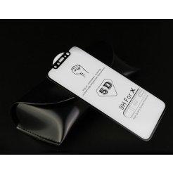 Tvrzené sklo Apple iPhone X 5D černé