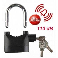 Visiaci zámok s alarmom - Alarm Lock 110 dB