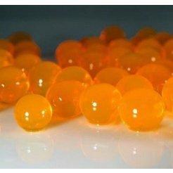 Biogelové kuličky do vázy Oranžové