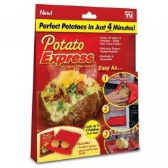 POTATO EXPRESS Vrecko na varenie zemiakov v mikrovlnke
