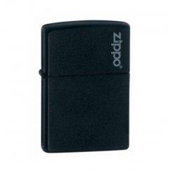ZIPPO zapalovač 26092 Black Matte w / Zippo Logo