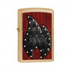 ZIPPO zapaľovač 28139 Leather Flame