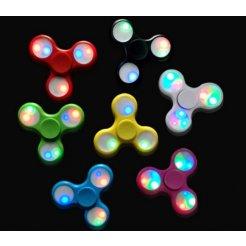 Fidget spinner s LED osvetlením