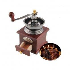 Retro ruční mlýnek na kávu