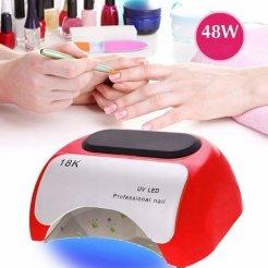 UV lampa Prosfessional nail UV LED 48W timer + senzor