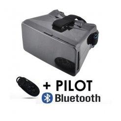 Virtuális 3D-s szemüveg okostelefonokhoz, bluetooth vezérlővel