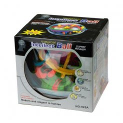 Hlavolam 3D Intelect ball 19 cm / 138 překážek