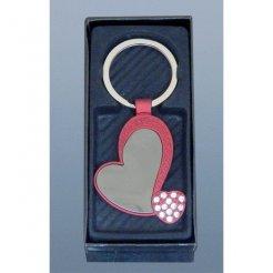 Prívesok na kľúče Srdiečko