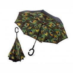 Obrátený dáždnik Pávie pero