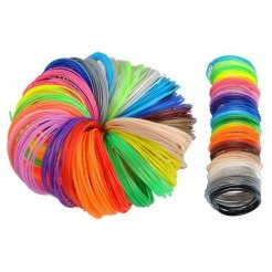PLA Filament SET 30 farieb pre 3D pera 30 x 5 m, 1,75mm