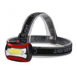 Čelovka COB LED 3W
